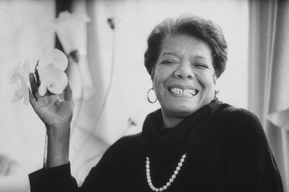 Dr. Maya Angelou in 1993
