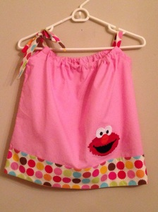 What 2-year-old doesn't want an Elmo dress?